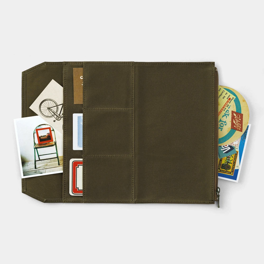 Traveler's Company - Cotton Zipper Case Limited Edition (Regular) - Kuva 7