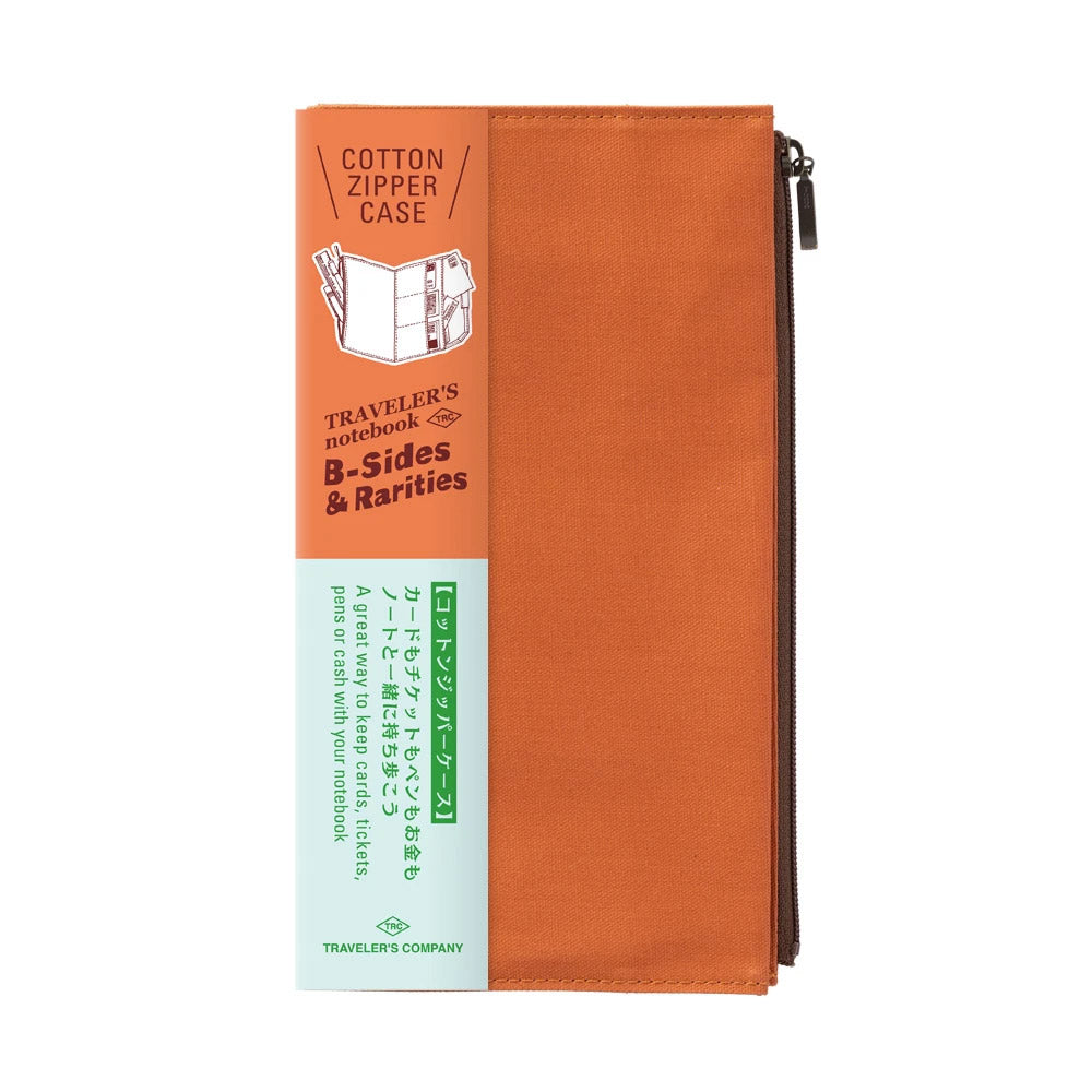 Traveler's Company - Cotton Zipper Case Limited Edition (Regular) - Kuva 8