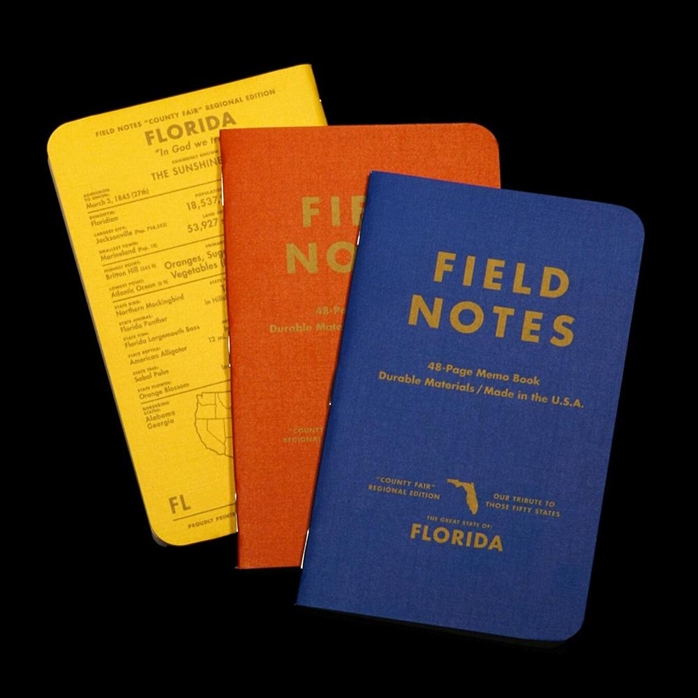 Field Notes County Fair muistivihko (3-Pack) - Kuva 3