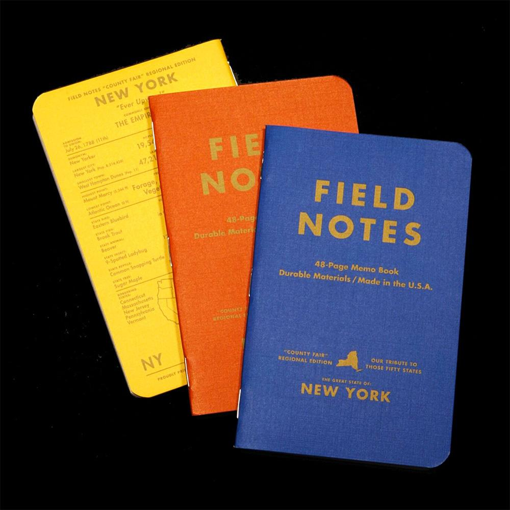 Field Notes County Fair muistivihko (3-Pack) - Kuva 4