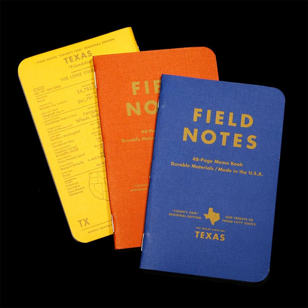 Field Notes County Fair muistivihko (3-Pack) - Kuva 5