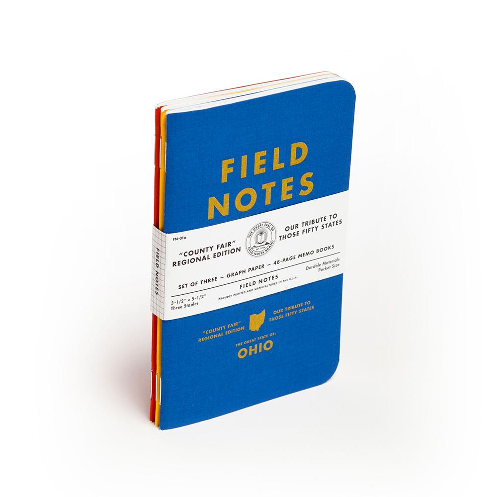 Field Notes County Fair muistivihko (3-Pack) - Kuva 1