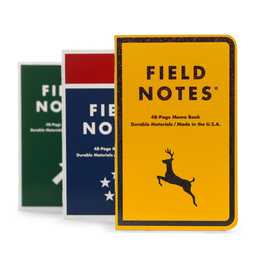 Field Notes Mile Marker muistivihko (3-Pack) - Kuva 1
