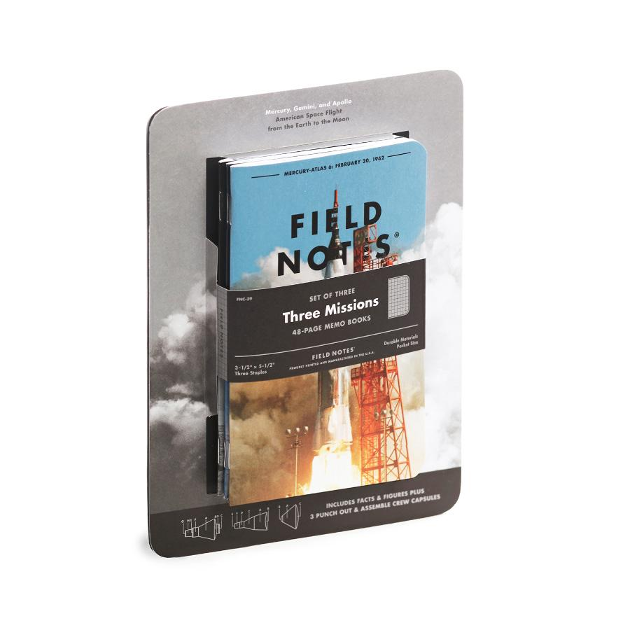 Field Notes Three Missions muistivihko (3-Pack) - Kuva 1