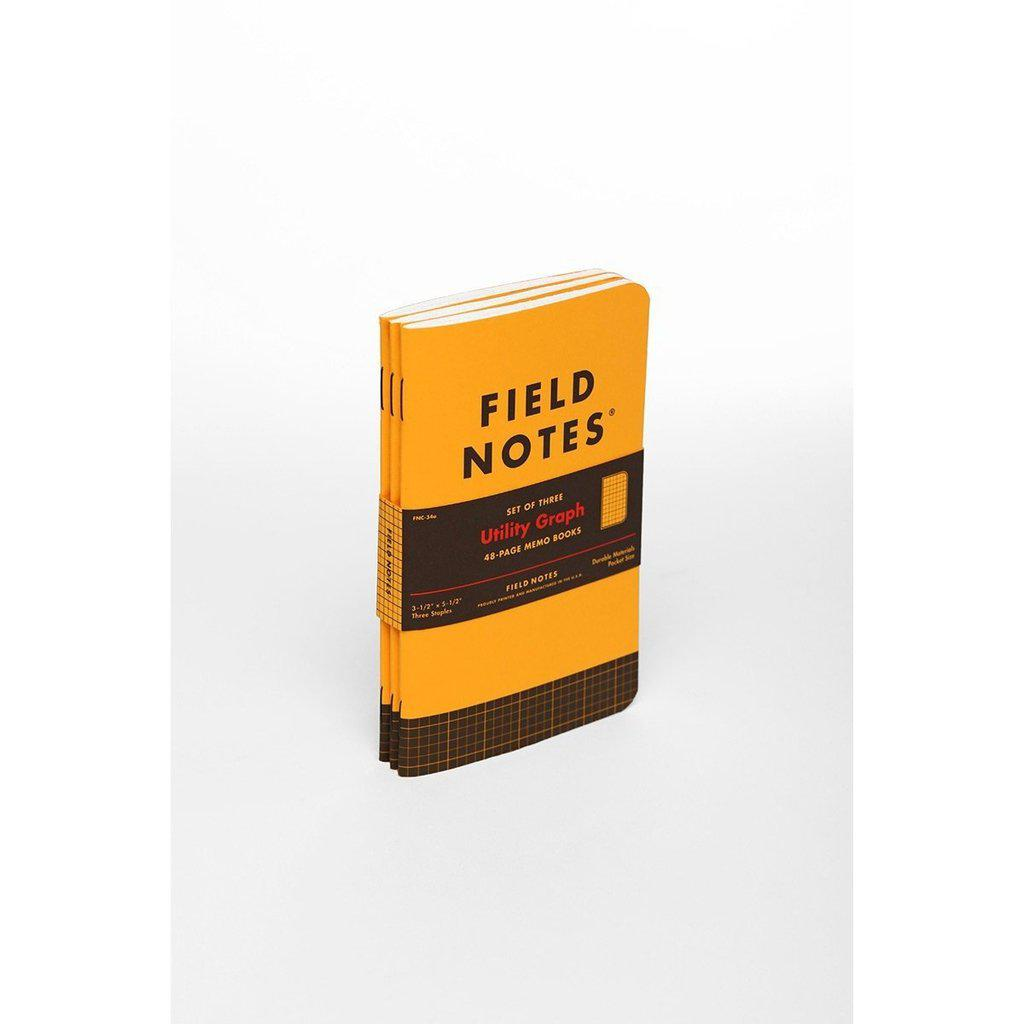 Field Notes Utility -muistivihko (3-pack) - Kuva 13