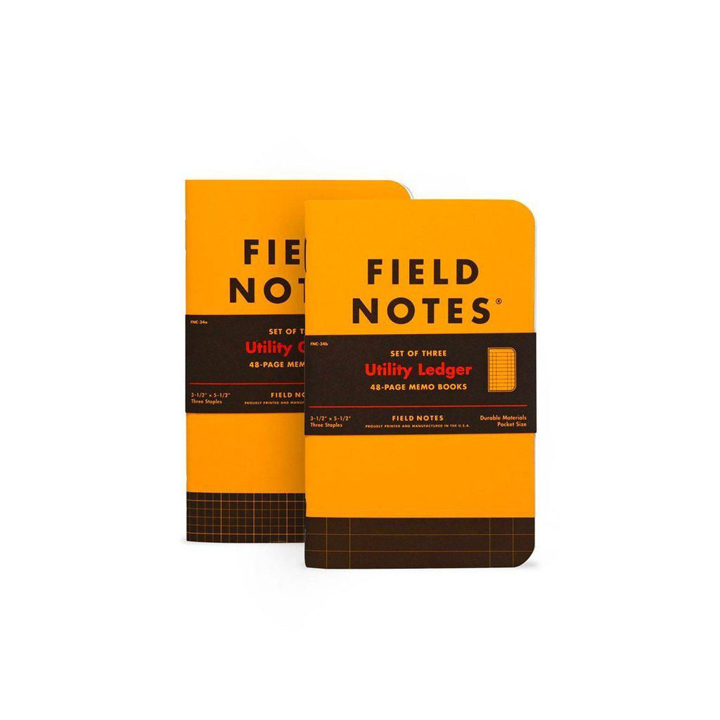 Field Notes Utility -muistivihko (3-pack) - Kuva 1