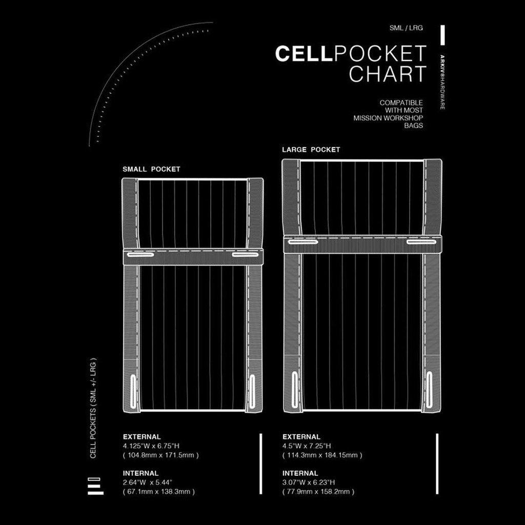 Mission Workshop Arkiv Cell Pocket: Small - Kuva 7