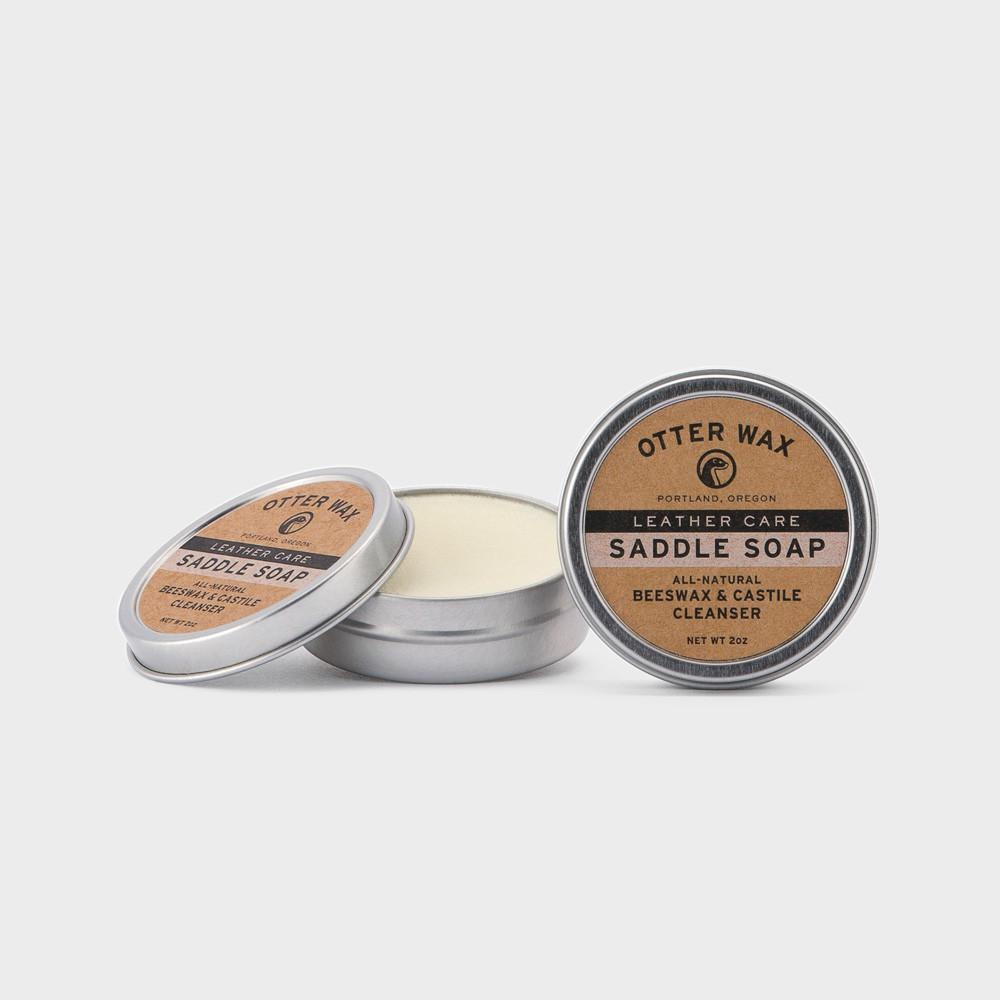 Otter Wax Saddle Soap nahan pesuaine - Kuva 1