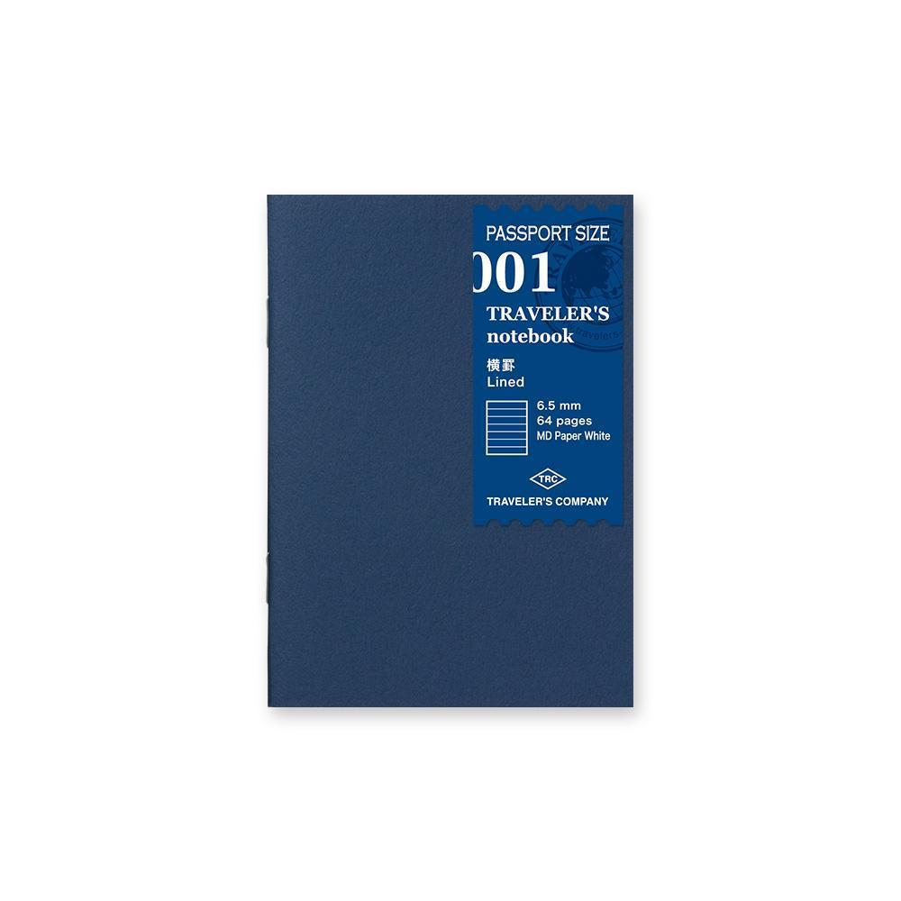 Traveler's Company - 001 Lined Notebook Refill (Passport) MD - Kuva 1