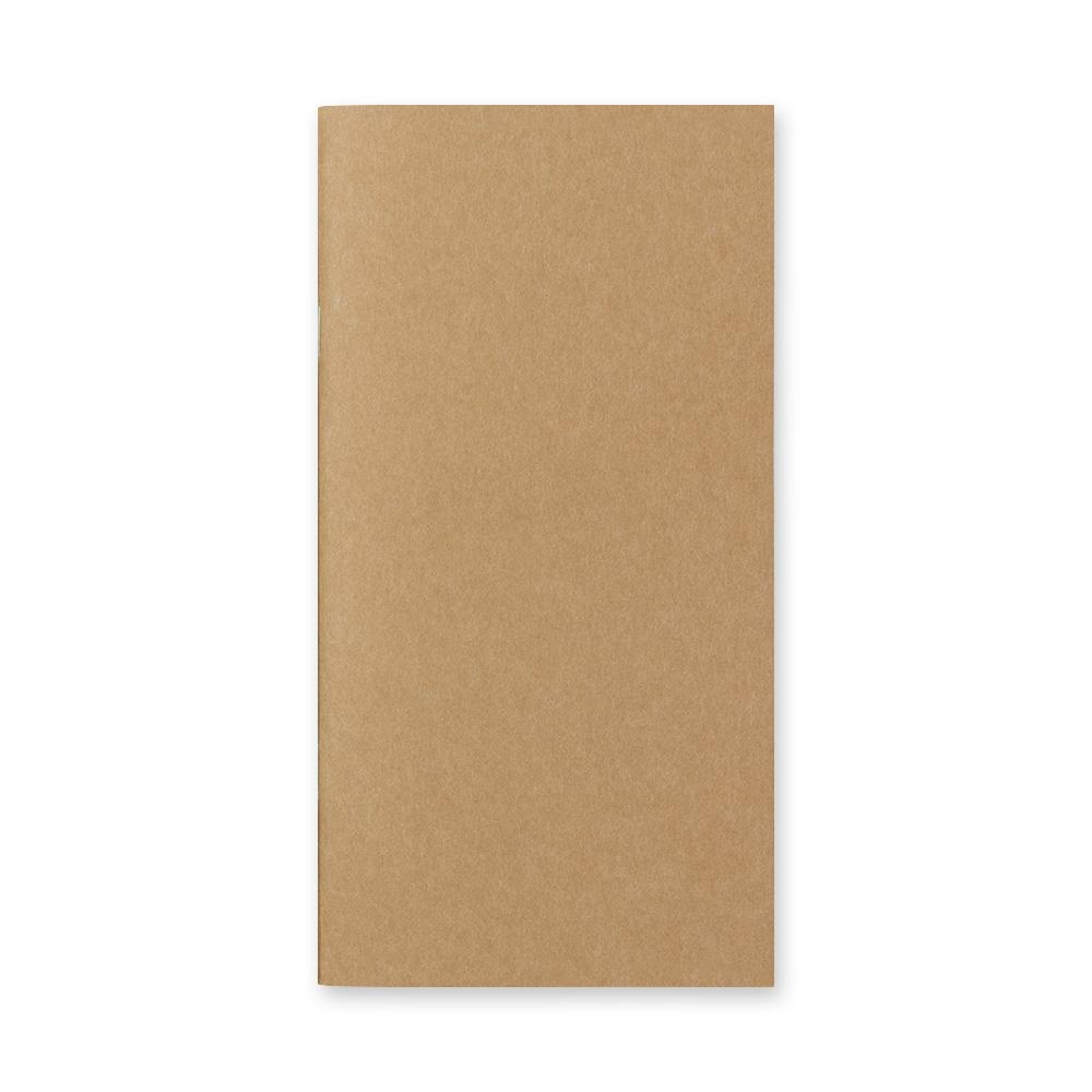 Traveler's Company - 003 Blank Notebook Refill (Regular) - Kuva 2