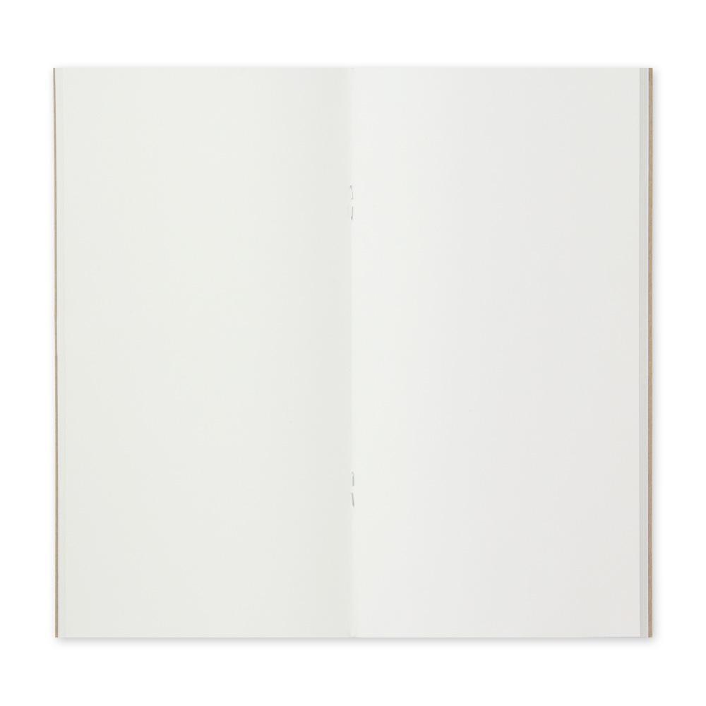 Traveler's Company - 003 Blank Notebook Refill (Regular) - Kuva 3