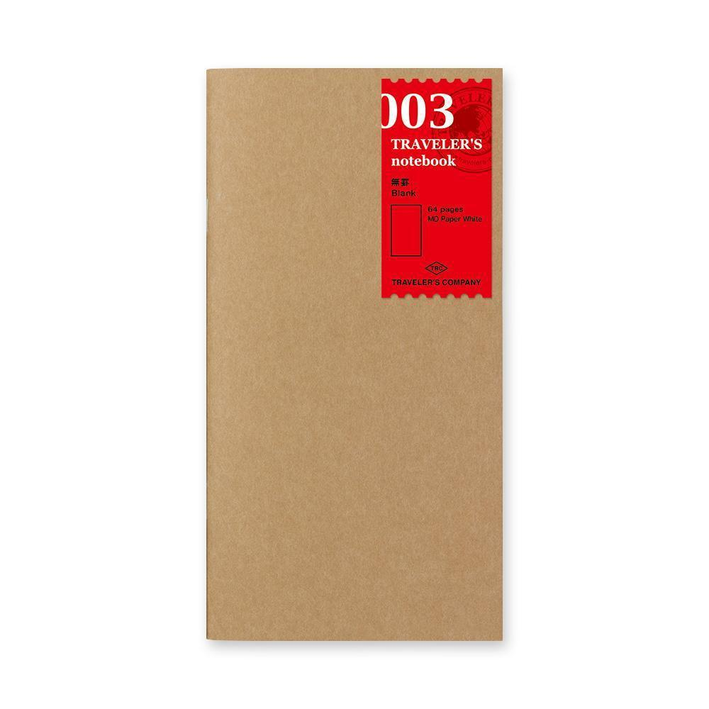 Traveler's Company - 003 Blank Notebook Refill (Regular) - Kuva 1