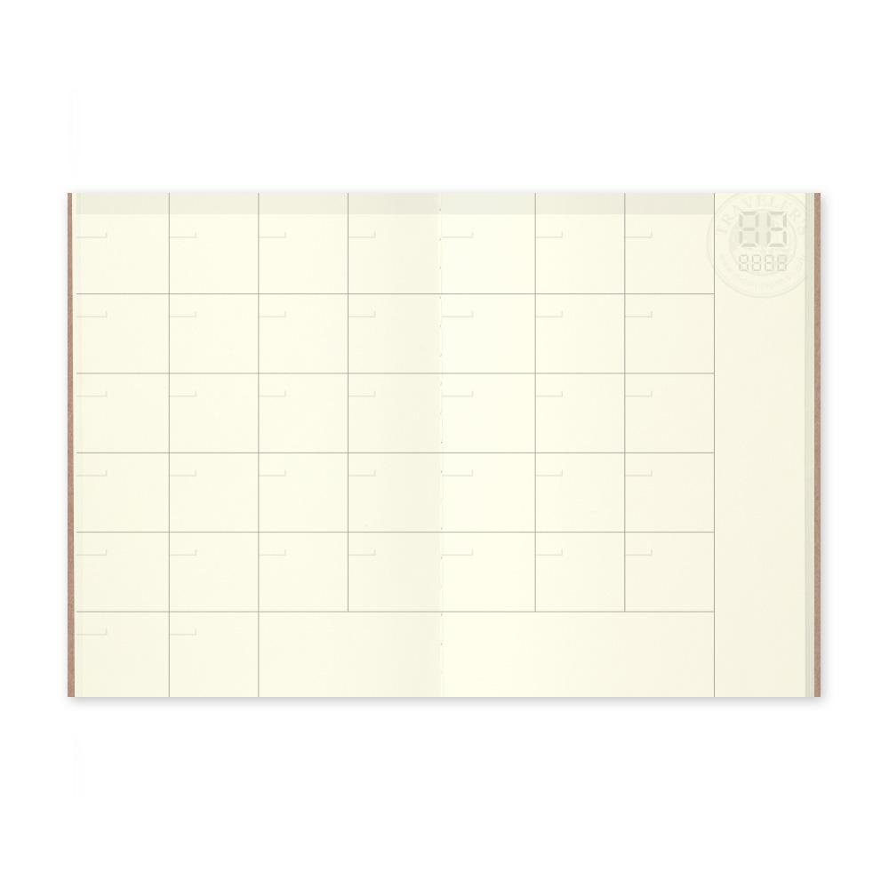 Traveler's Company - 006 Free Diary Monthly (Passport) - Kuva 1