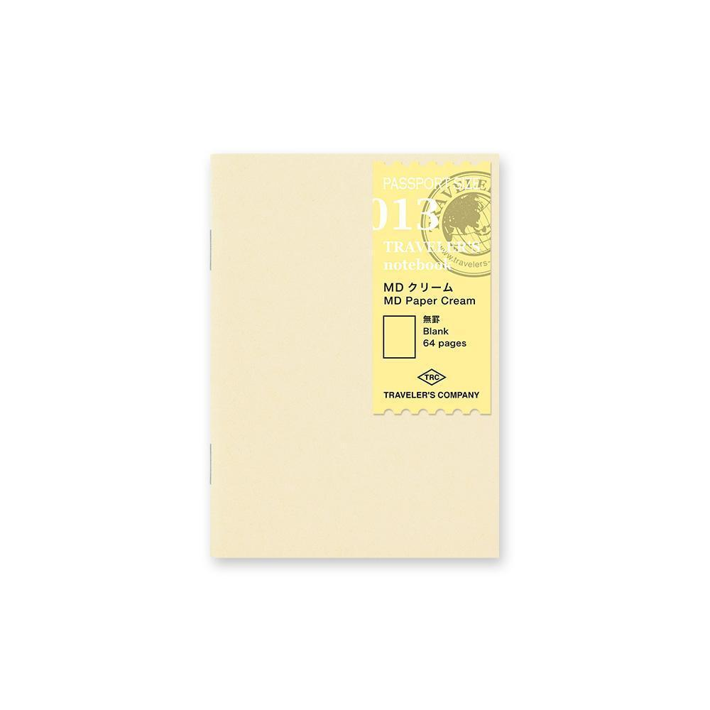 Traveler's Company - 013 MD Paper Cream Refill (Passport) - Kuva 1
