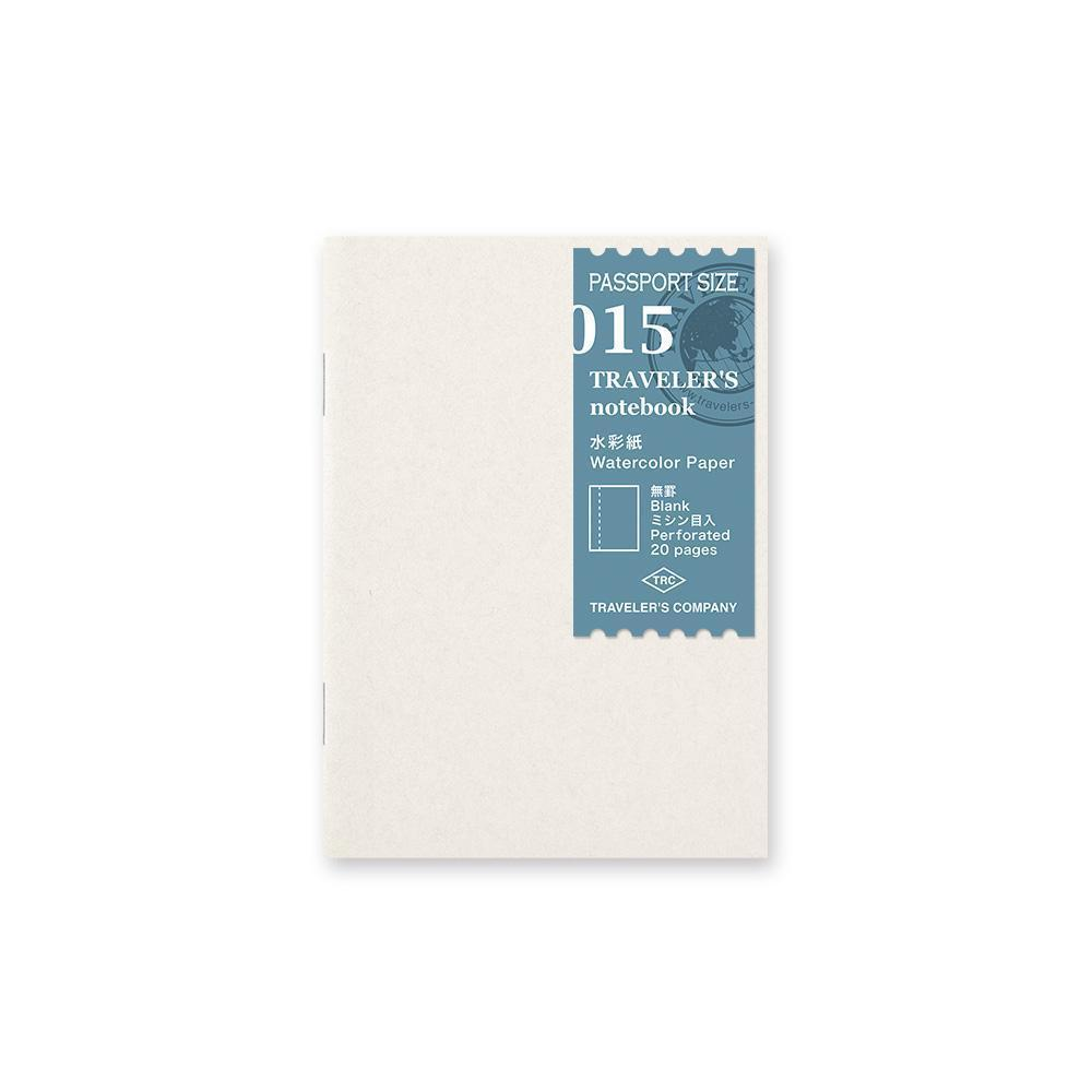 Traveler's Company - 015 Watercolor Paper Refill (Passport) - Kuva 1