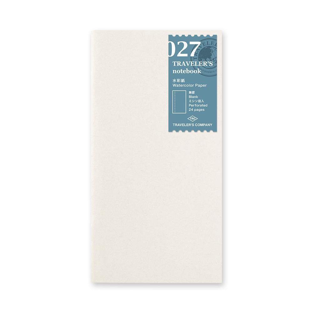 Traveler's Company - 027 Watercolor Paper Refill (Regular) - Kuva 1
