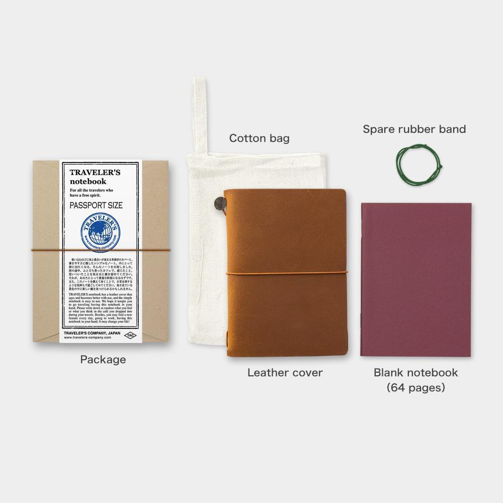 Traveler's Company Notebook - Passport Size - Kuva 1