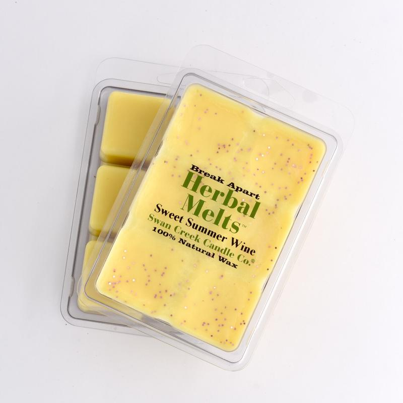 6 pack of break-away scented wax melts