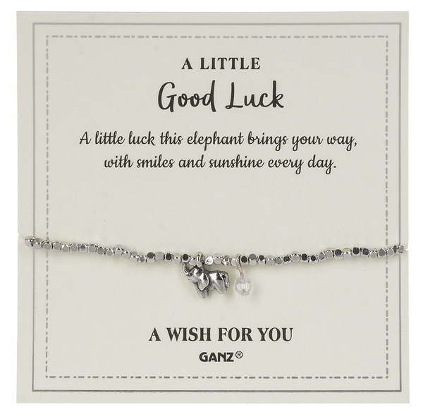 Good Luck bracelet and charm