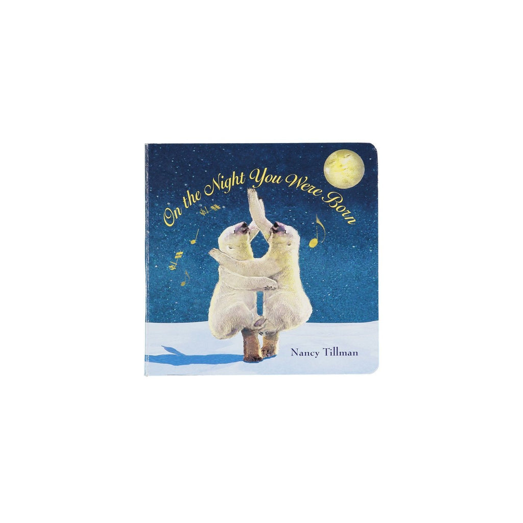 "Image of the book ""On the Night You Were Born"" on a white background."