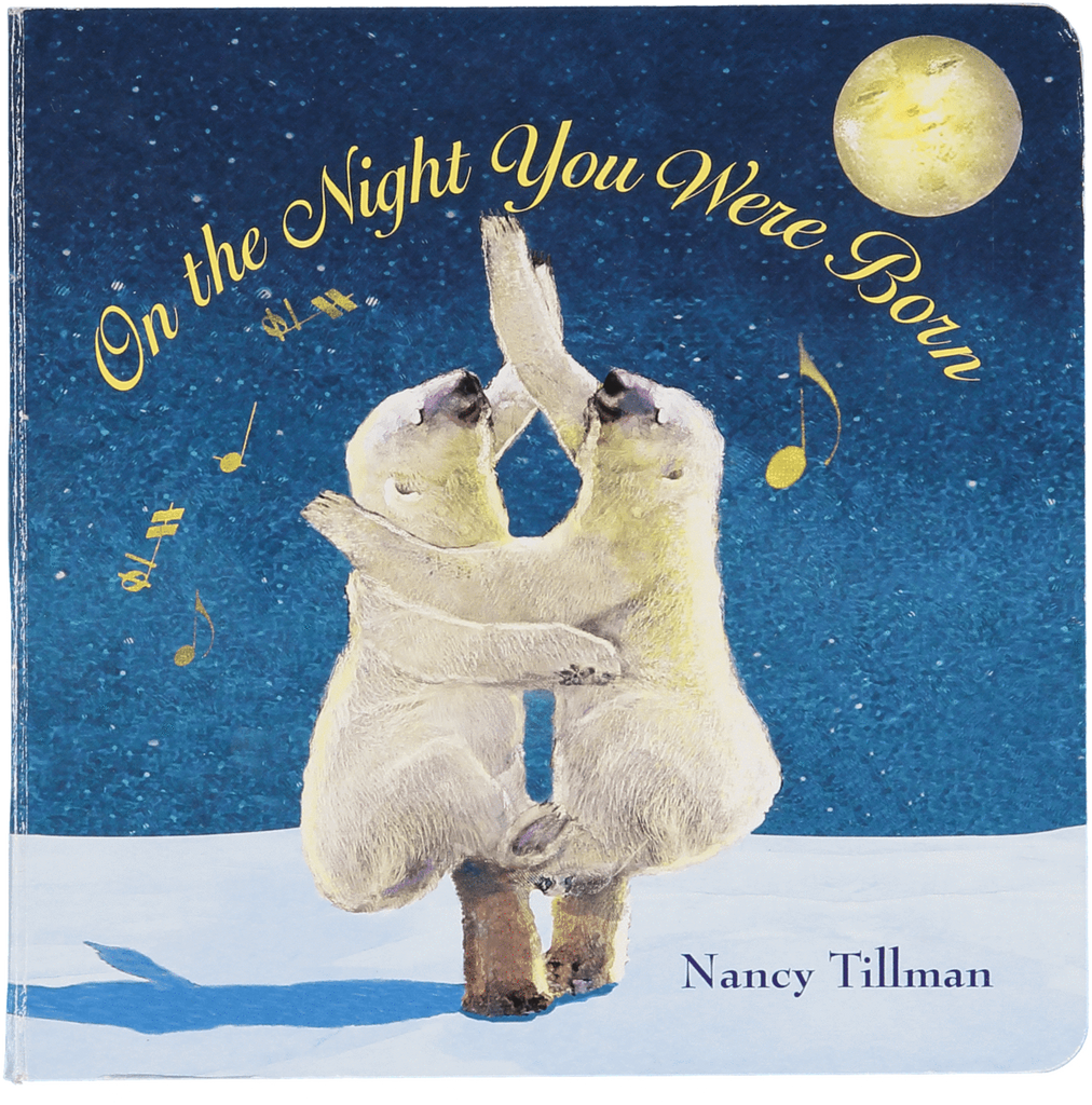 Close up image of the cover of the book 'On the Night You Were Born'