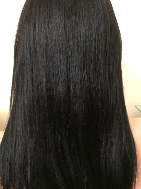 PRE-PLUCKED 360 Anatomic Lace Front Wig 18 inches Light Yaki B-360LYLF181B