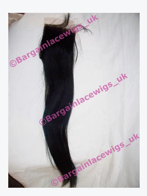 Top Closure AA Relaxed Texture 18 inches long colour #2 Q-AACLOS18TWO