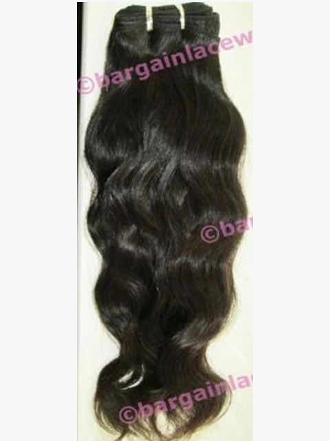 Brazilian Virgin Remy Hair Weft (for weaving) 14 inches long loose natural wave Q-BVWEFT14-LNW