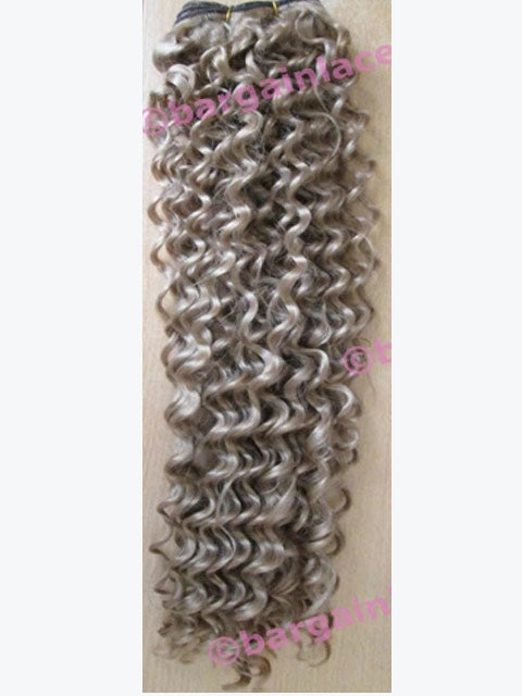 Synthetic Weft (for weaving) Curly 24 inches Colour #27 Q-SCU2427