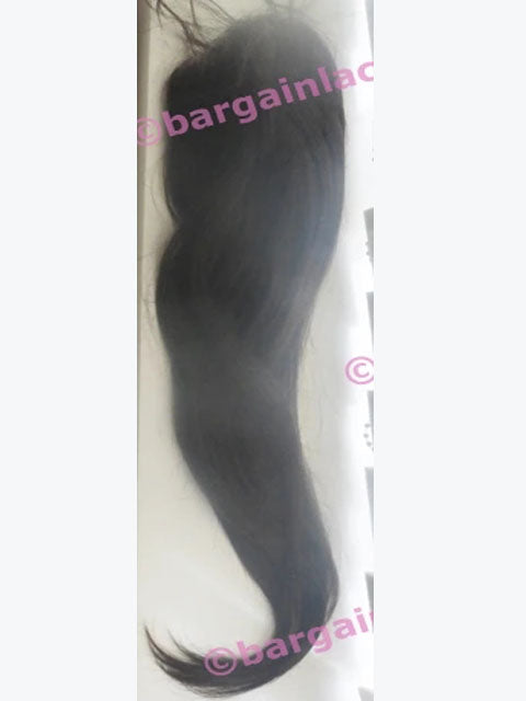 "Silk-base Top Closure 20 inches long European Virgin Remy hair 6"" by 7"", 180% density Q-SKCLOSEV20TWO"