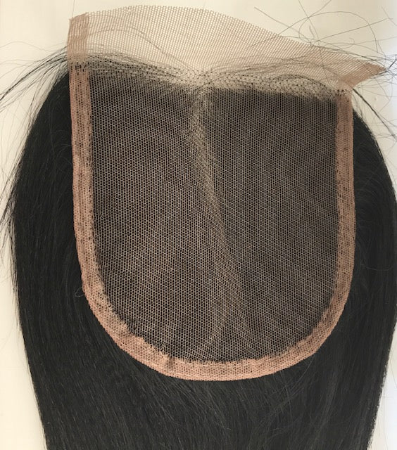 Top Closure AA Relaxed Texture 10 inches long colour #1 P-AACLOS10ONE
