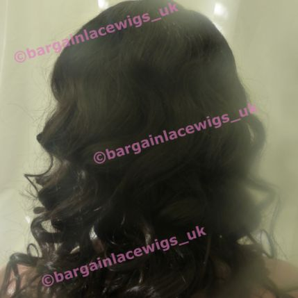 Celebrity Inspired Curly Brazilian Virgin Remy 18 inches long natural colour #2 H-BVCURL18TWO