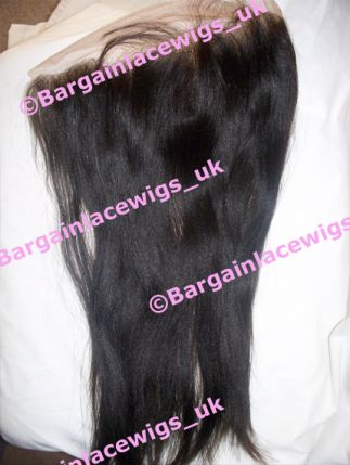 Yaki Texture Lace Frontal 18 inches long Q-YKFRO181B