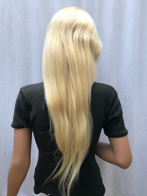 Lace Front Wig 22 inches colour #613, Chinese Virgin Remy C-NSLF22613