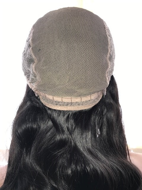 U-Part Wig Body Wave 20 inches Indian Virgin Remy hair, no wefts O-UPTBWIV20