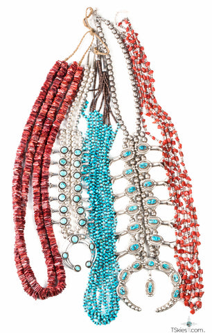high quality native american necklaces