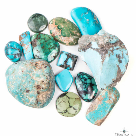 raw turquoise in an unused state