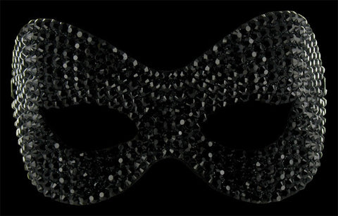 Swarovski Crystal Phantom Mask