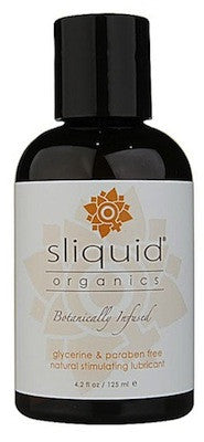 Sliquid Organics Natural Stimulating Lubricant. 125ml