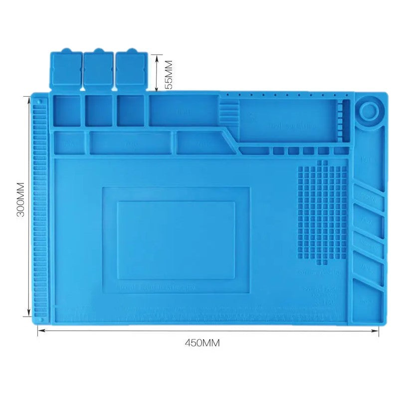 S-160 450mm x 350mm Heat Insulation Silicone Mat