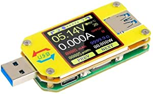 UM34C Type-C & USB 3.0 Colour LCD Display Voltage & Amp meter