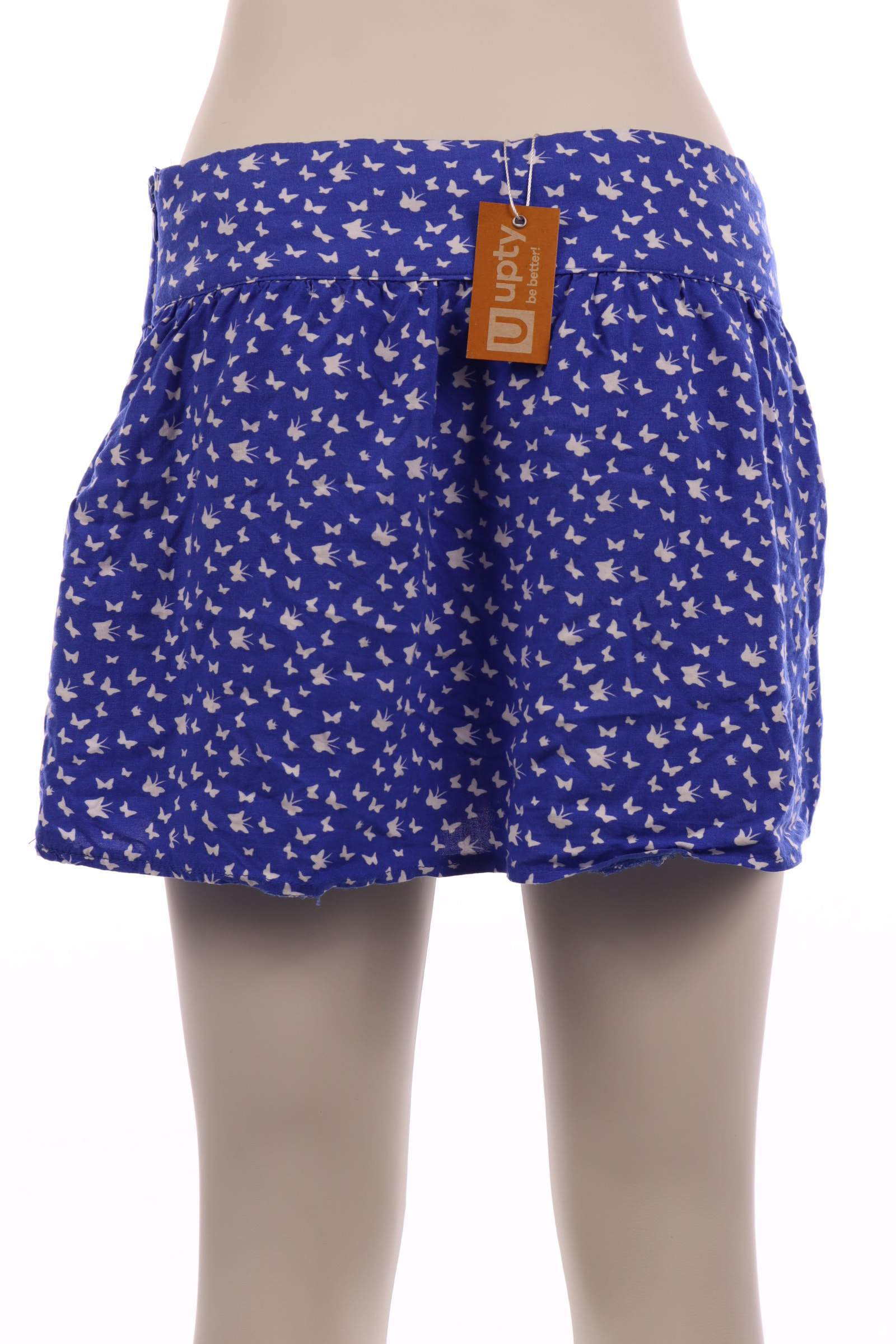Fishbone Blue Skirt - upty.store