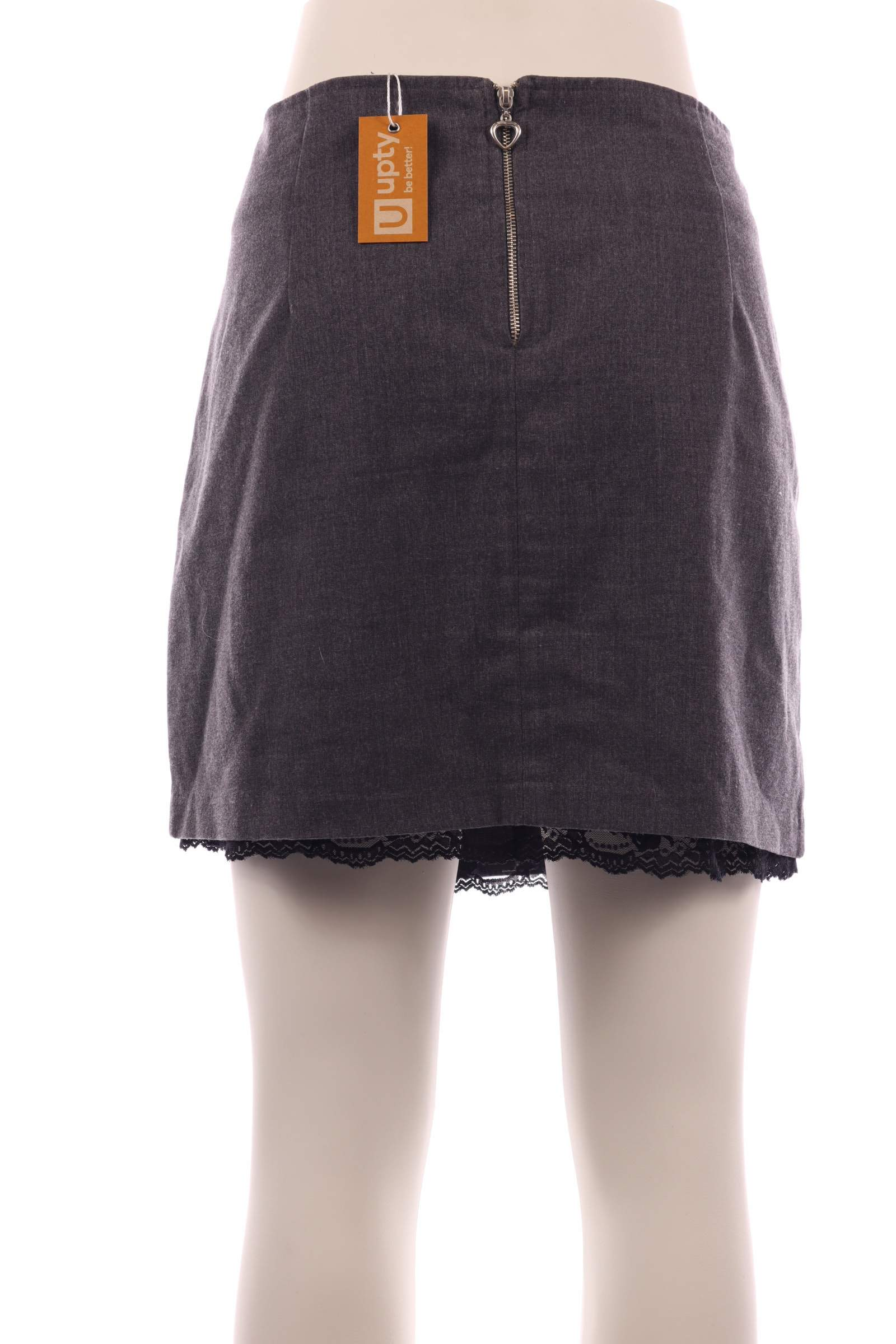 FB Sisters Gray Skirt - upty.store