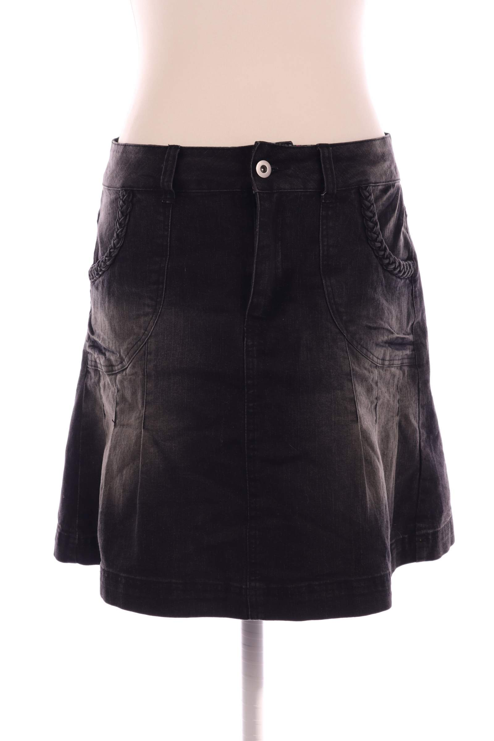 Isolde Black Skirt - upty.store