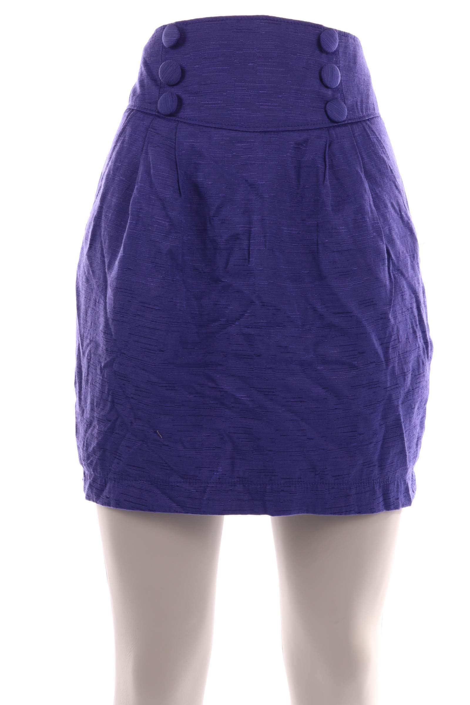Divided Blue Skirt - upty.store