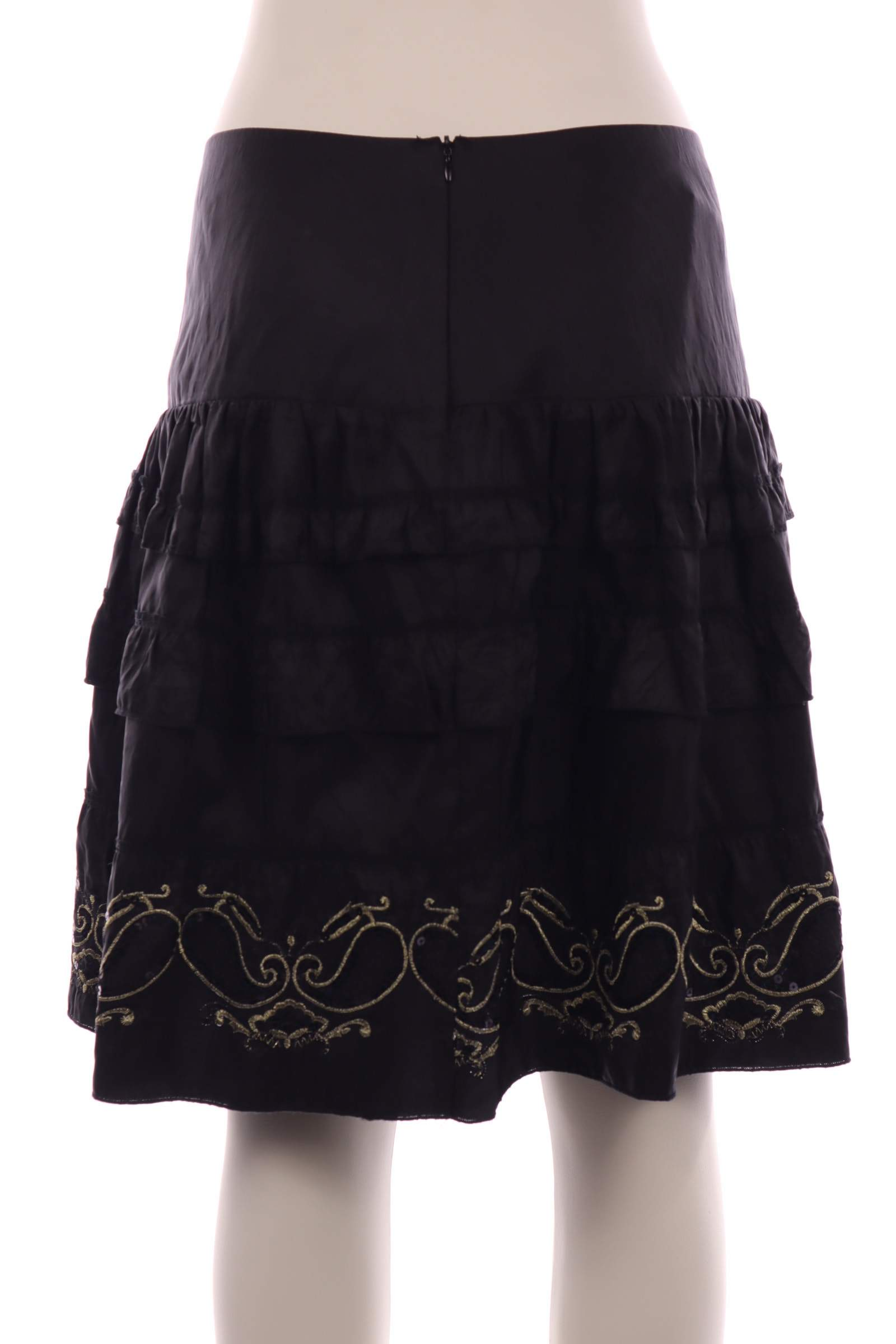 just xmx Black Skirt - upty.store