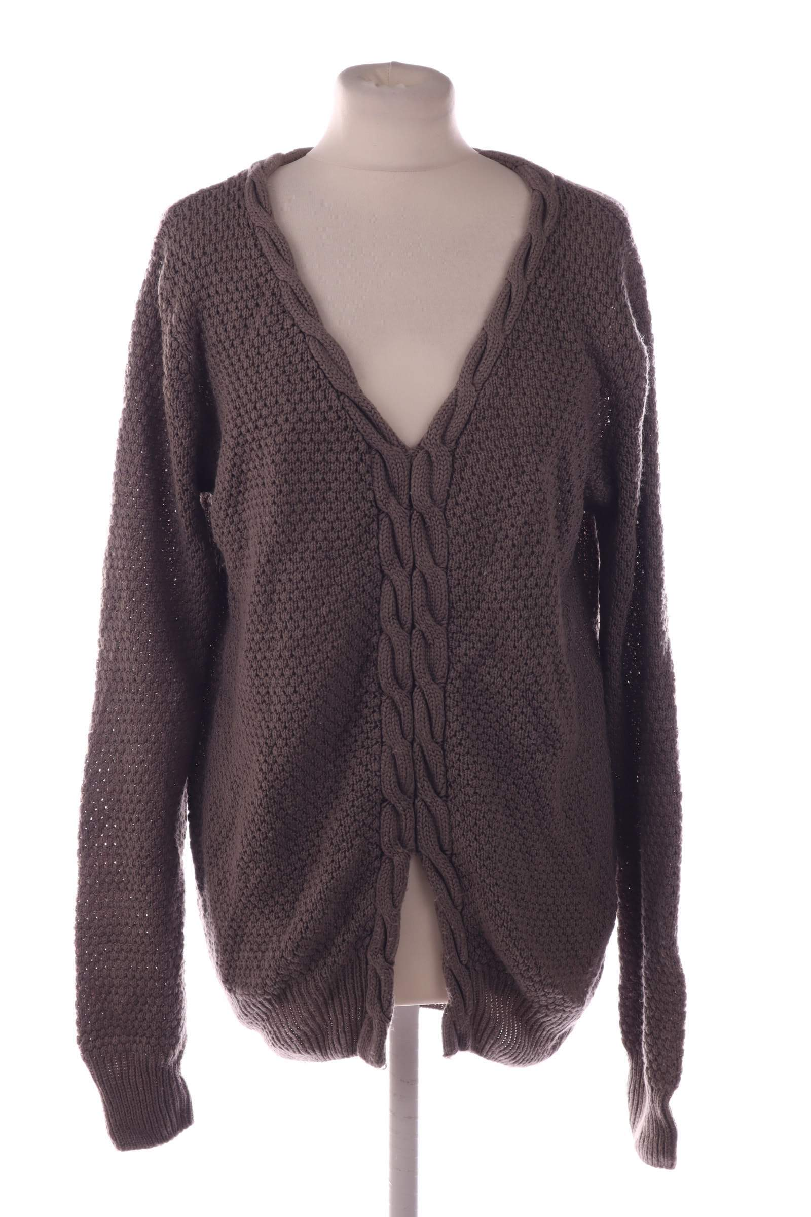 B.bocelli Brown Sweater - upty.store