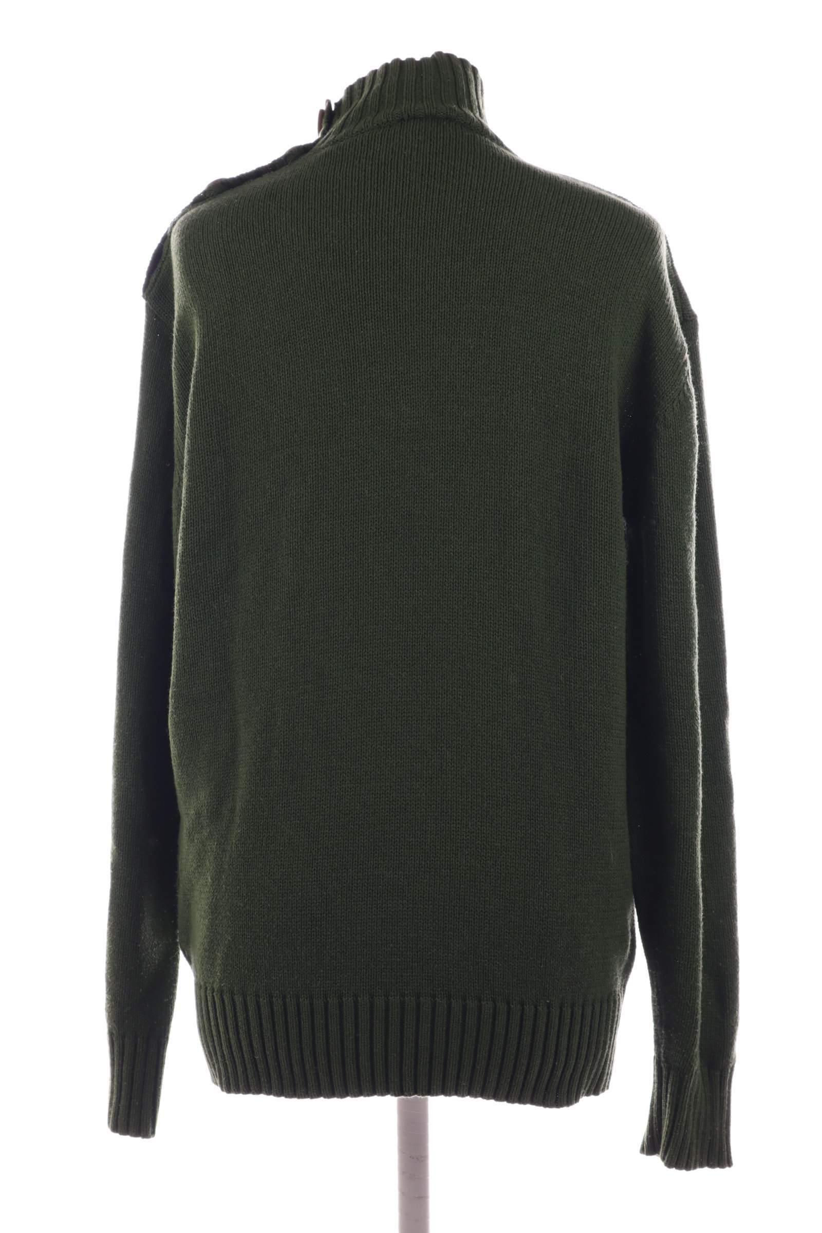 Smog Green Sweater - upty.store