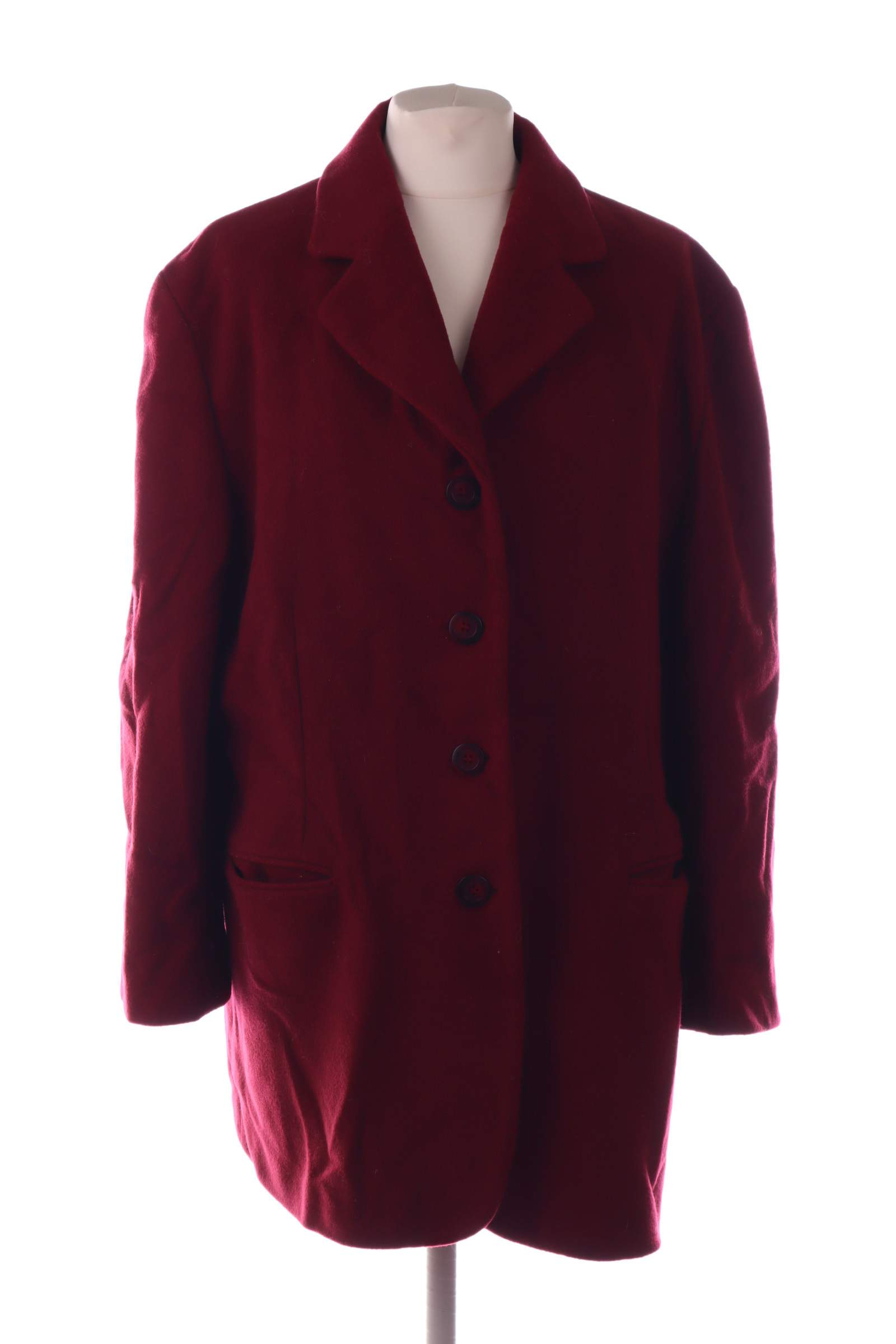 Only Burgundy Coat - upty.store