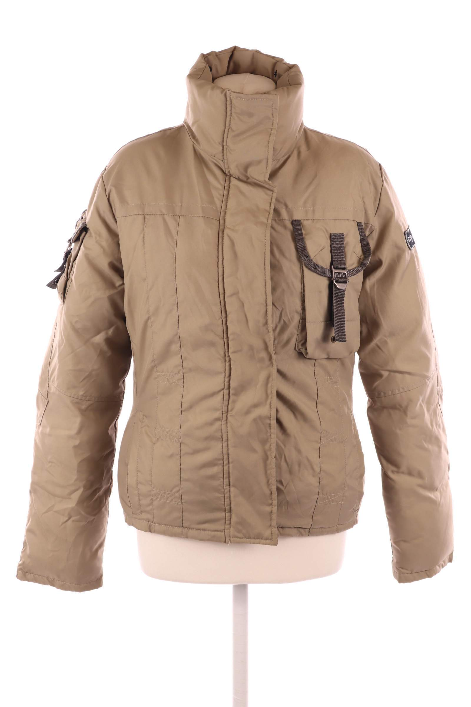 City Life Beige Coat - upty.store
